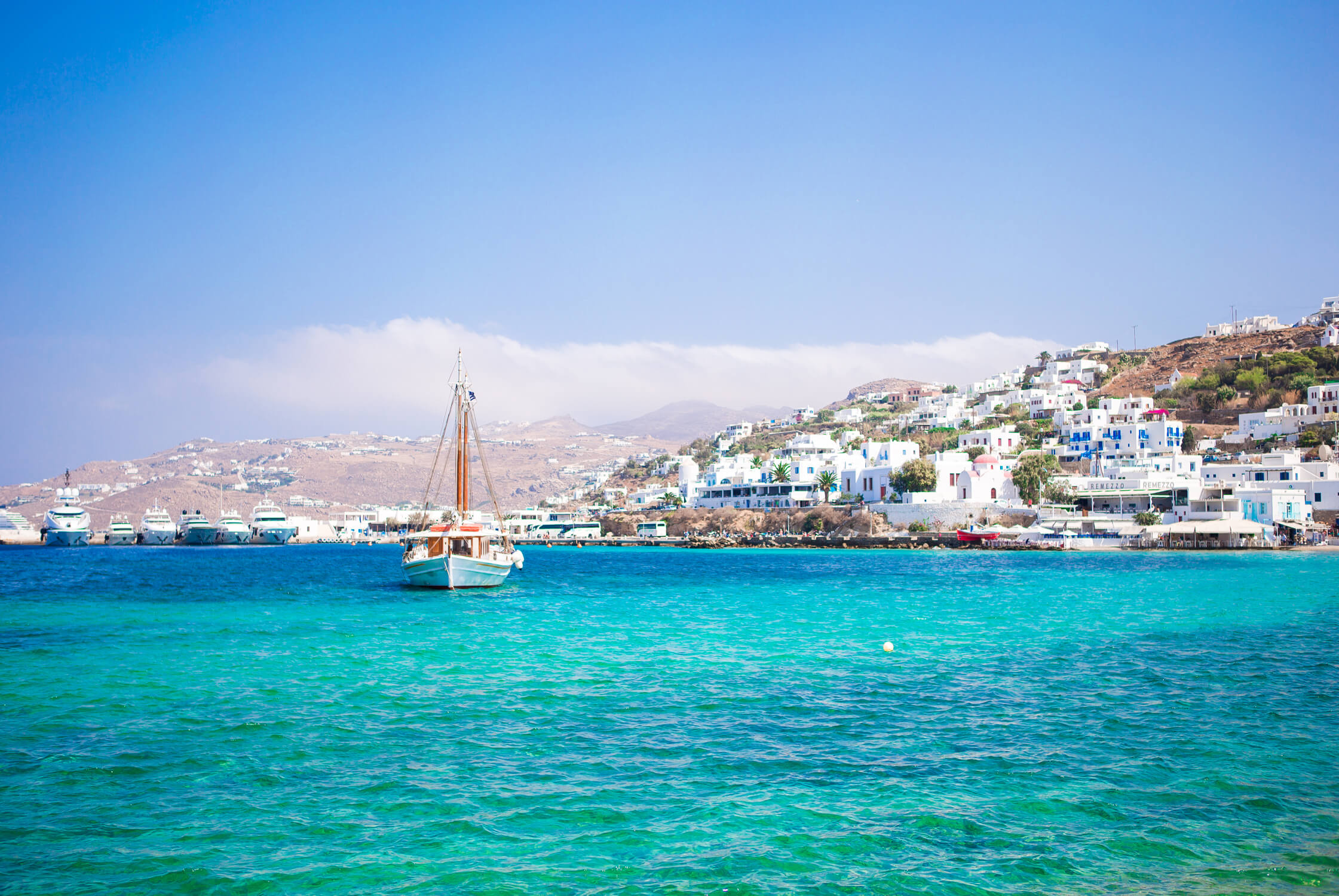 Discover Rome on a land tour and then cruise to Santorini, Mykonos, Athens and Napless